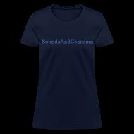 T-Shirts ~ Women's T-Shirt ~ SAG womens tee navy