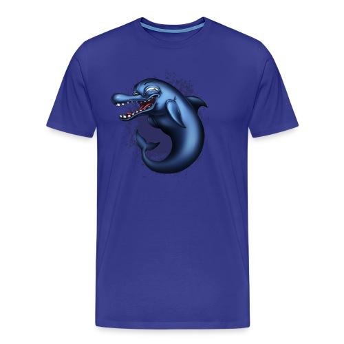 Suggestive Dolphin - Men's Premium T-Shirt