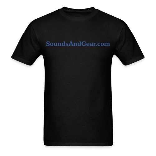 SAG Black Tee - Men's T-Shirt
