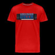 T-Shirts ~ Men's Premium T-Shirt ~ SAG Logo Color Tee