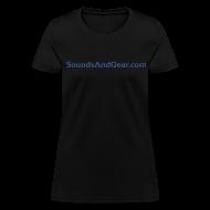 T-Shirts ~ Women's T-Shirt ~ SAG womens tee blk