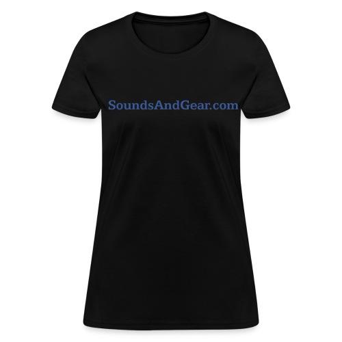 SAG womens tee blk - Women's T-Shirt