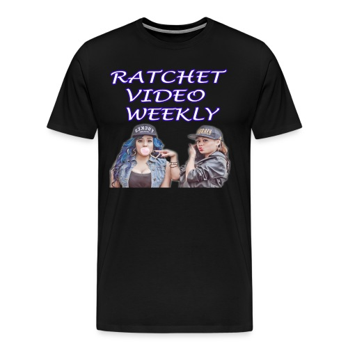 Ratchet Video Weekly Logo Big & Tall - Men's Premium T-Shirt