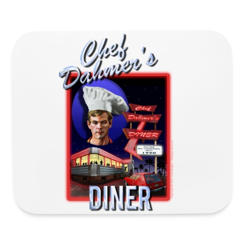 Chef Dahmer's Diner - Mouse pad Horizontal