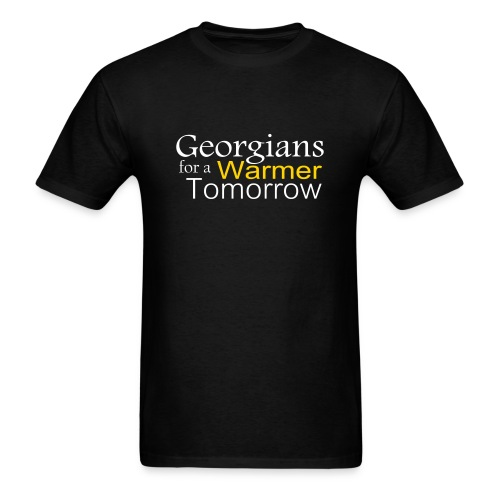 Georgians for Warmer - Men's T-Shirt