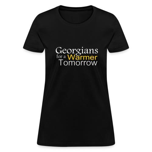 Georgians for Warmer - Women's T-Shirt