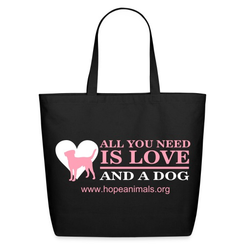 All You Need is Love Tote - Eco-Friendly Cotton Tote