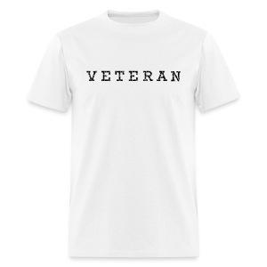 The Veteran  - Men's T-Shirt