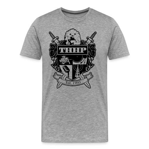 THHP Classic Crest Tee - Men's Premium T-Shirt