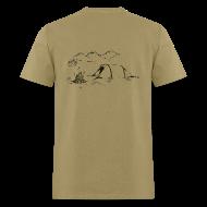 T-Shirts ~ Men's T-Shirt ~ Hiking Shirt - The Simple Pleasures