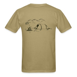 Hiking Shirt - The Simple Pleasures - Men's T-Shirt