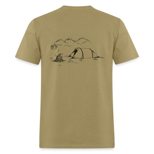 Hiking Shirt - The Simple Pleasures - Men's T-Shirt