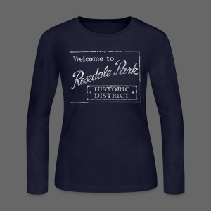 Rosedale Park - Women's Long Sleeve Jersey T-Shirt