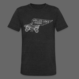 Walled Lake Roller - Unisex Tri-Blend T-Shirt by American Apparel