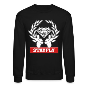 Stay Fly crewneck sweatshirt - Crewneck Sweatshirt