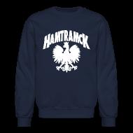Long Sleeve Shirts ~ Crewneck Sweatshirt ~ Hamtramck Eagle
