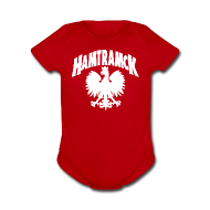 Baby Bodysuits ~ Short Sleeve Baby Bodysuit ~ Hamtramck Eagle