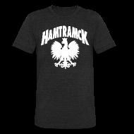 T-Shirts ~ Unisex Tri-Blend T-Shirt ~ Hamtramck Eagle