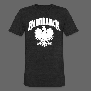 Hamtramck Eagle - Unisex Tri-Blend T-Shirt by American Apparel