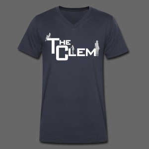 The Clem - Men's V-Neck T-Shirt by Canvas