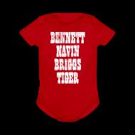 Baby Bodysuits ~ Short Sleeve Baby Bodysuit ~ Detroit Baseball Fields