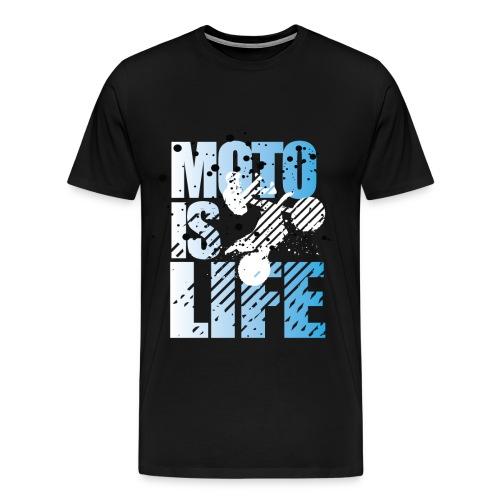Moto Is Life - Men's Premium T-Shirt