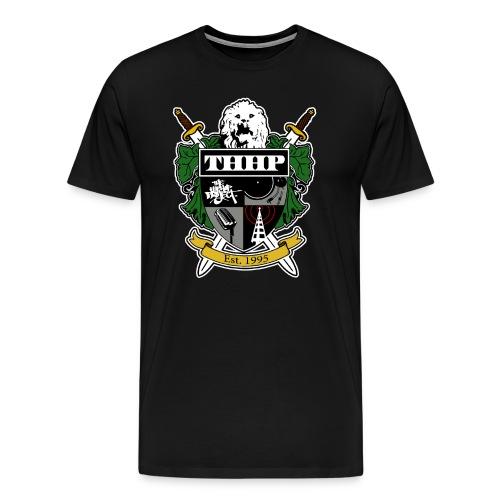 THHP Classic Crest Color Tee - Men's Premium T-Shirt