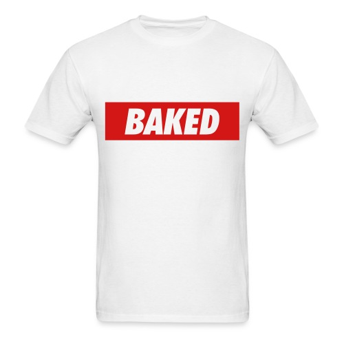 Baked. - Men's T-Shirt