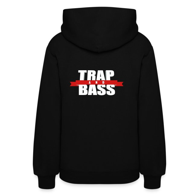 Trap and Bass Womens Hoodie