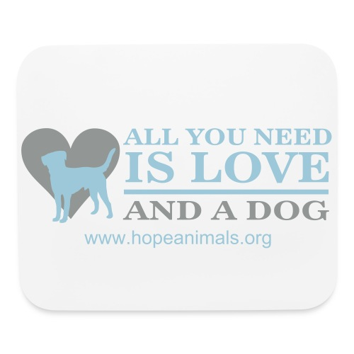 All You Need is Love Mouse Pad - Mouse pad Horizontal