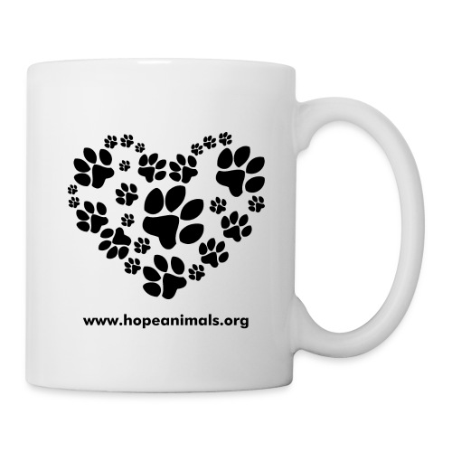 Pawprints Coffee Mug - Coffee/Tea Mug