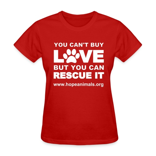 Can't Buy Love T-Shirt - Women's T-Shirt