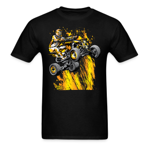 Fired Up ATV Quad - Men's T-Shirt
