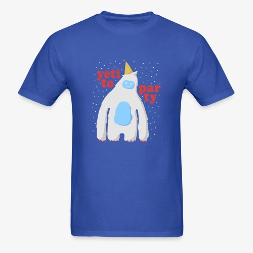 Yeti To Party - Men's T-Shirt
