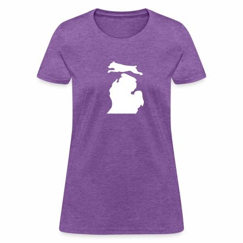 Rottweiler Bark Michigan women's shirt - Women's T-Shirt