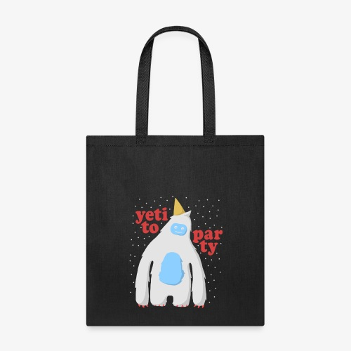 Yeti To Party - Tote Bag