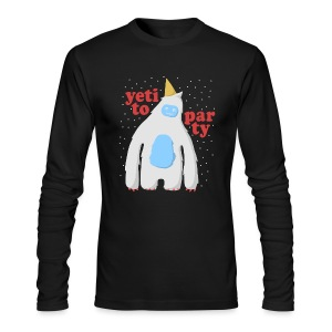 Yeti To Party - Men's Long Sleeve T-Shirt by Next Level