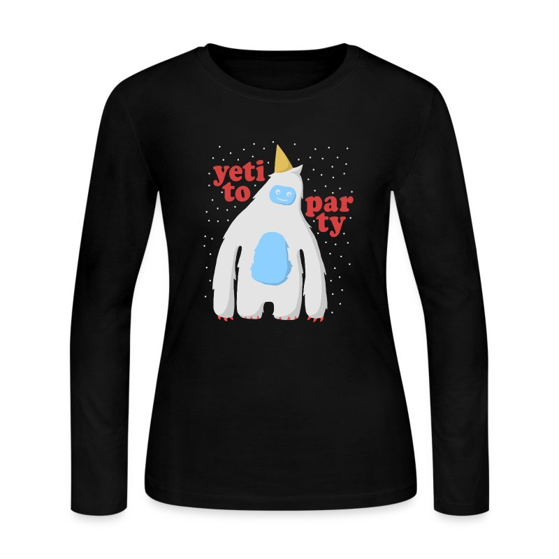 Yeti To Party - Women's Long Sleeve Jersey T-Shirt