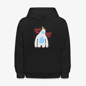 Yeti To Party - Kids' Hoodie