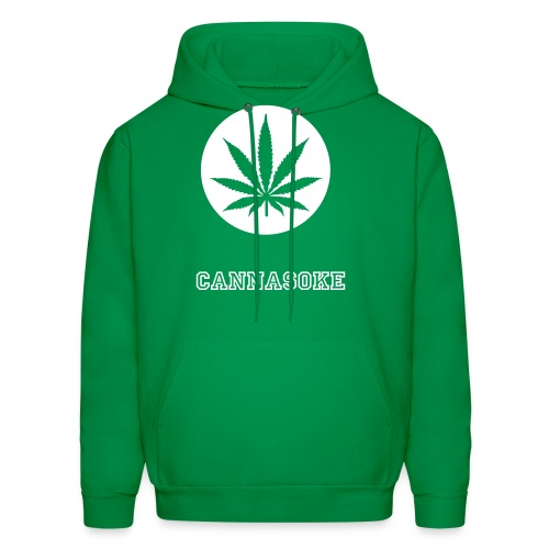 CannaSmoke Leaf- Sweatshirt - Men's Hoodie