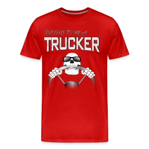 Trucker T-shirt - Men's Premium T-Shirt
