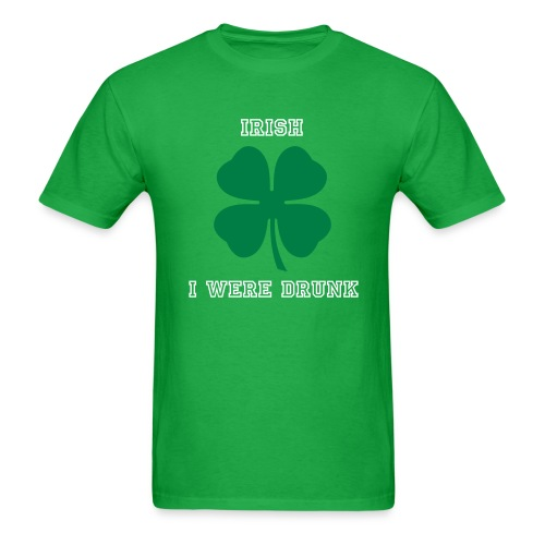 St. Patrick's Day Drinking Shirt - Men's T-Shirt