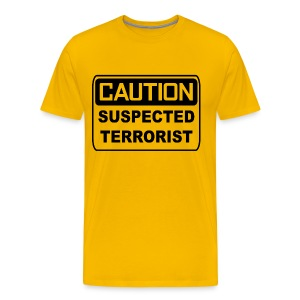 Suspected Terrorist - Men's Premium T-Shirt