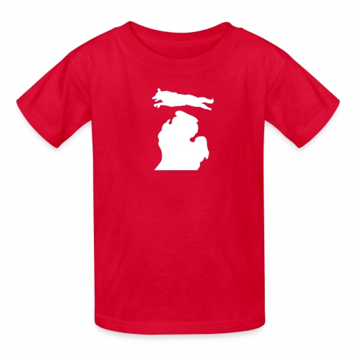 Border Collie Bark Michigan Children's Shirt - Kids' T-Shirt