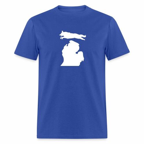 Border Collie Bark michigan Men's Shirt - Men's T-Shirt