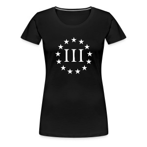 Threeper Girl - Women's Premium T-Shirt