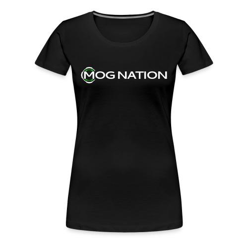 Womens Mog Nation 2015 Logo - Women's Premium T-Shirt