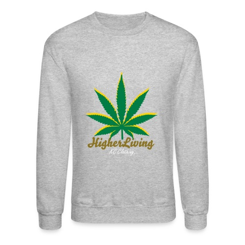 Higher Living - Graphic Sweater - Crewneck Sweatshirt