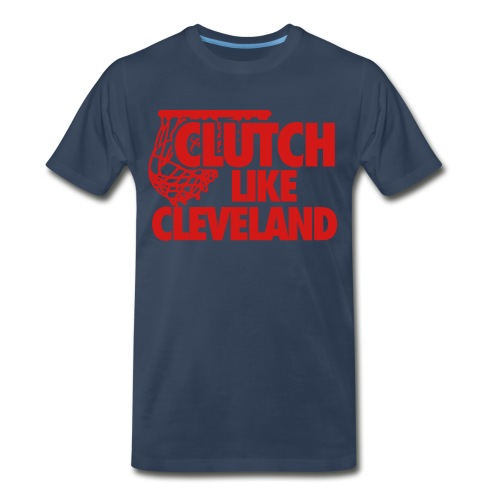 Clutch Cleveland Navy Men's T-Shirt - Men's Premium T-Shirt