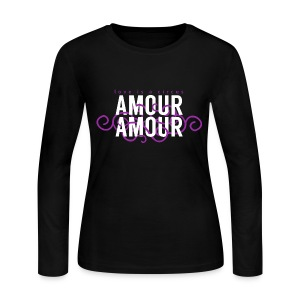 Amour Amour Long Sleeve T-Shirt - Women's Long Sleeve Jersey T-Shirt